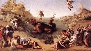 Piero di Cosimo Perseus Freeing Andromeda oil painting