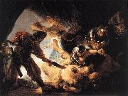 REMBRANDT Harmenszoon van Rijn The Blinding of Samson oil painting reproduction
