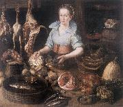 RYCK, Pieter Cornelisz van The Kitchen Maid AF oil painting reproduction