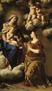 SASSOFERRATO The Mystic Marriage of St. Catherine f oil painting
