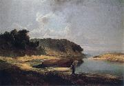 A.K.Cabpacob Landscape oil painting reproduction