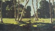 Arkhip Kuinji The Birch Grove oil painting