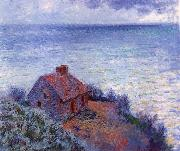 Claude Monet The Coustom s House oil painting reproduction