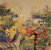 Donna Schuster Panama-Pacific International Exposition,Fine Arts Pavlion oil painting