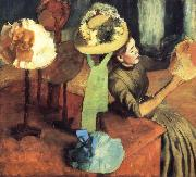 Edgar Degas La Boutique de Mode oil painting reproduction