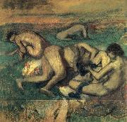 Edgar Degas Baigneuses oil painting reproduction