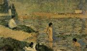 Georges Seurat Bathers of Asnieres oil painting reproduction