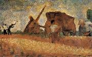Georges Seurat Excavation Worker oil painting reproduction