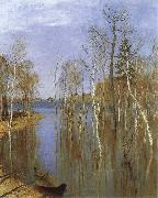 Isaac Levitan Spring,Flood Water oil painting