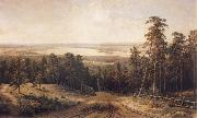 Ivan Shishkin Landscape oil painting reproduction