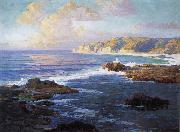 Jack wilkinson Smith Crystal Cove State Park oil painting