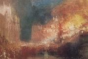 Joseph Mallord William Turner Houses of Parliament on Fire oil painting reproduction