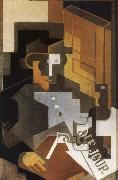 Juan Gris People oil painting reproduction