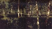 Levitan, Isaak Silver birch oil painting