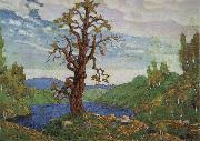 Nikolai Roerich Kissing the Earth oil painting
