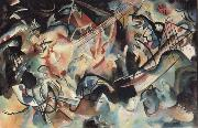 Wassily Kandinsky Komposition VI oil painting reproduction