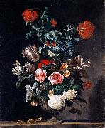 Abraham jansz.begeyn Flowers in a Stone Vase oil painting