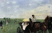 Edgar Degas Racetrack oil painting reproduction
