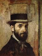 Edgar Degas Portrait oil painting reproduction