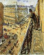 Edvard Munch Streetscape oil painting