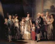 Francisco Goya The Family of Charles IV oil painting reproduction