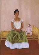 Frida Kahlo The doll and i oil painting reproduction