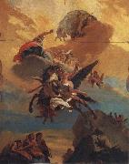Giovanni Battista Tiepolo Perseus and Andromeda oil painting reproduction