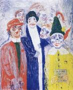 James Ensor La Gamme d-amour oil painting reproduction