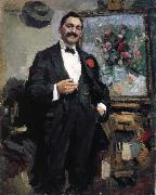 Konstantin Korovin Portrait oil painting reproduction