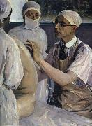 Nesterov Nikolai Stepanovich The Doc. in Surgery oil painting reproduction