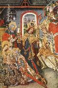 Reixach Juan Adoration of the Magi oil painting reproduction