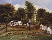 unknow artist Landscape of Staten Island oil painting reproduction