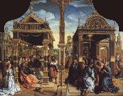 Bernaert Van Orley Altar to SS Thomas and Matthias oil painting