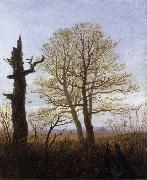 Carl Gustav Carus Landscape in Early Spring oil painting reproduction