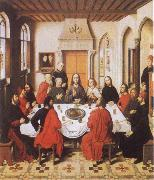 Dieric Bouts The Last Supper oil painting reproduction
