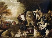 Edward Hicks The Peaceable Kingdom oil painting