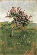 Ferdinand Hodler THe Lilac oil painting