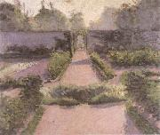 Gustave Caillebotte Kitchen Garden at Yerres oil painting reproduction