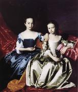 John Singleton Copley Mary and Elizabeth Royall oil painting