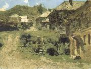Levitan, Isaak Angle in Pljob oil painting