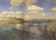 Levitan, Isaak The lakes. Rubland oil painting reproduction