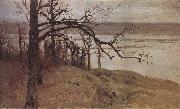 Levitan, Isaak Flood at the Sura oil painting
