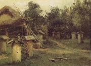 Levitan, Isaak Bees state oil painting reproduction