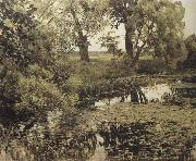 Levitan, Isaak Verwachsener pond oil painting