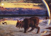 William Holman Hunt The Scapegoat oil painting