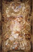 Andrea Pozzo The apotheosis of St. lgnatius oil painting