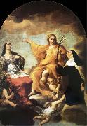 Andrea Sacchi The three Mary magdalene oil painting
