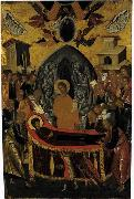 Andreas Ritzos The Dormition of the Virgin oil painting