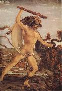 Antonio del Pollaiuolo Hercules and the Hydra oil painting