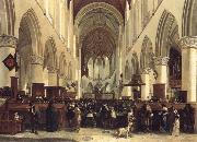 BLEKER, Gerrit Claesz THe Interior of the Grote Kerk,Haarlem oil painting reproduction